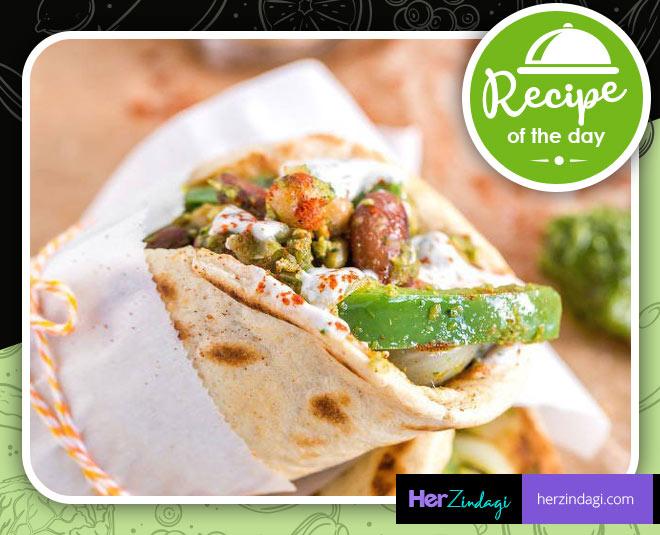 paneer kathi roll easy recipe