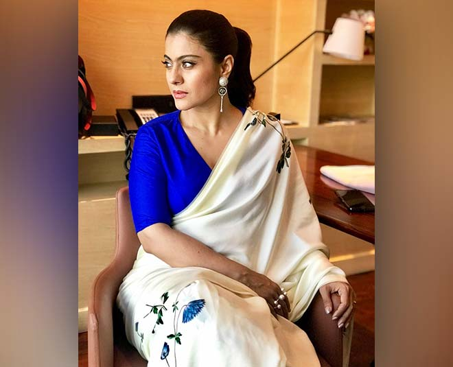 sarees worn by kajol