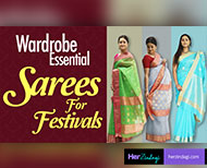 your saree collection this festive season with these colourful options thumb