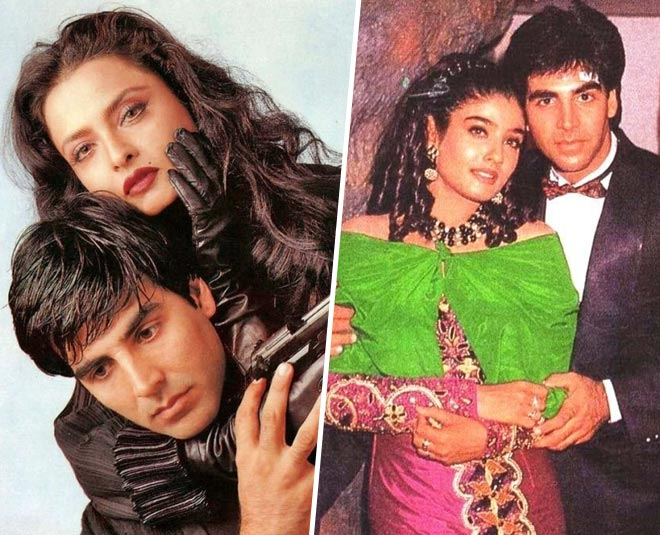 Akshay kumar and raveena affair main
