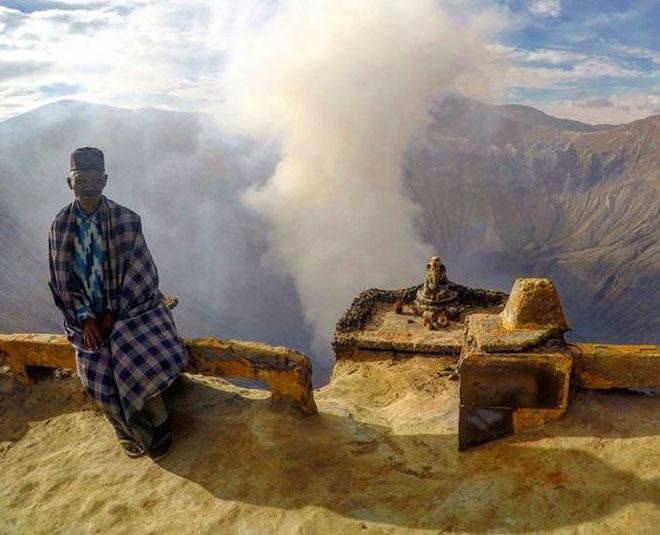 Ganesha Statue At Mount Bromo