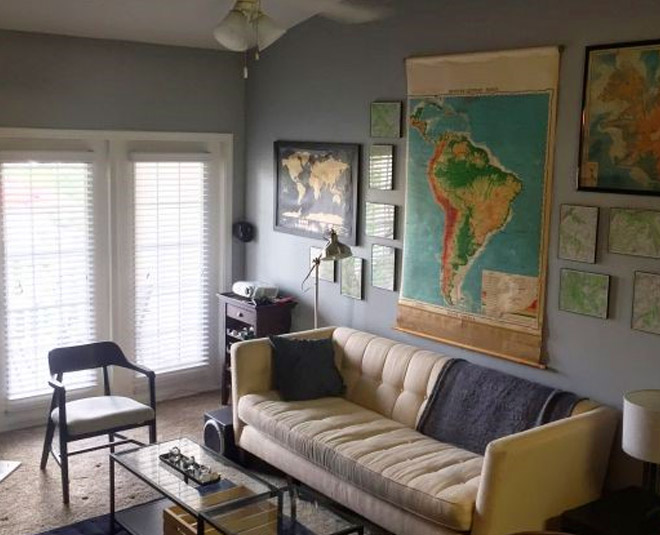 creative ways to decorate home with map main