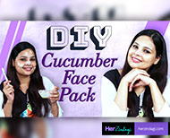 cucumber face pack thumb