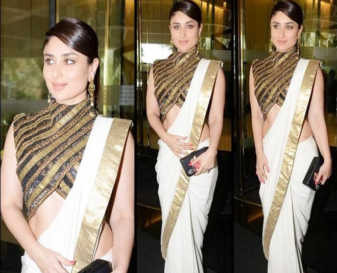 easy tips to look slim and fit in a saree Main