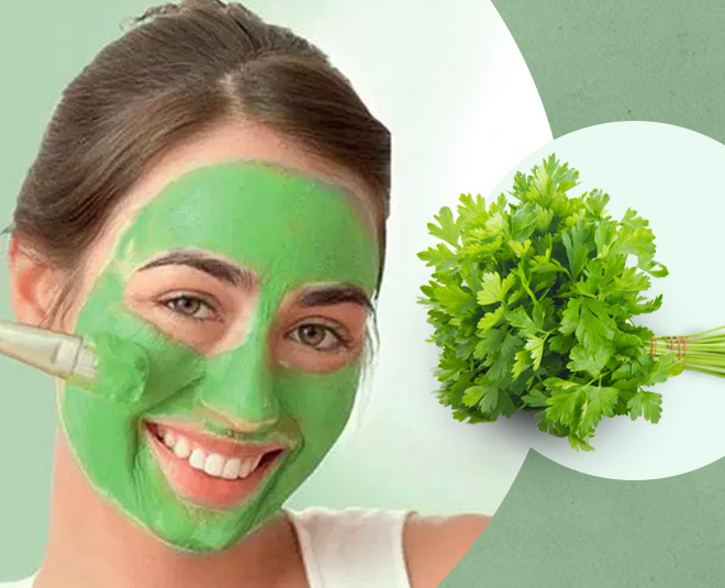 how coriander face pack promotes beautiful skin main