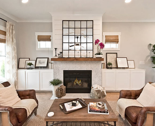ideas to decorate  fireplace in your home main