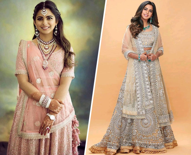 isha ambani festive season looks main