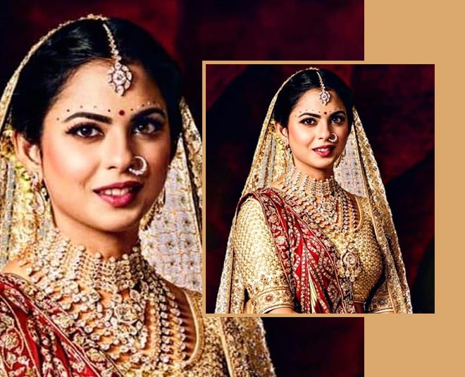 isha ambani latest makeup look