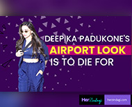 latest airport look deepika padukone september  THUMB