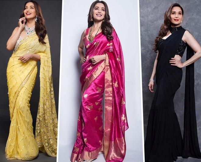madhuri dixit saree collection online price