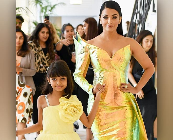 matching dress trend aishwarya rai aaradhya bachchan Main