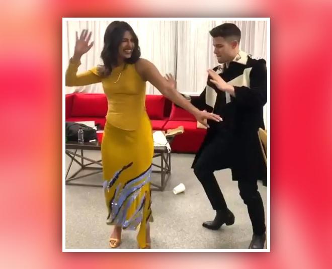 nick jonas dancing to indian song main