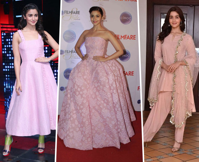 pink color dresses to wear main