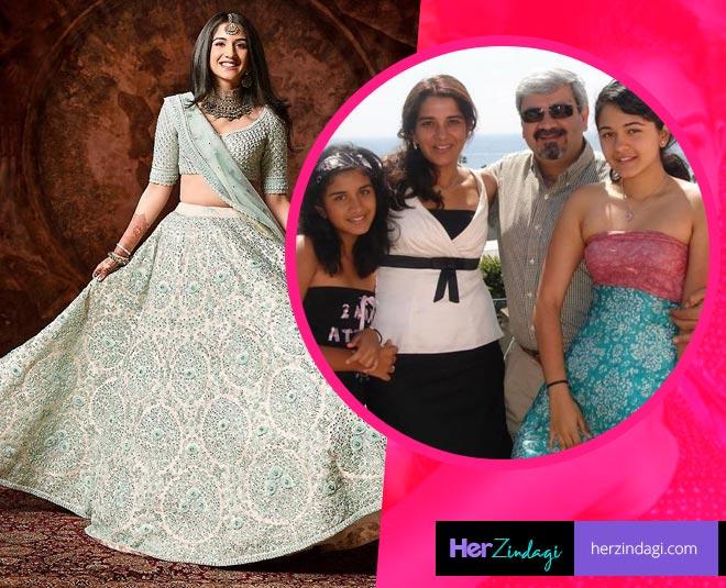 radhika merchant family