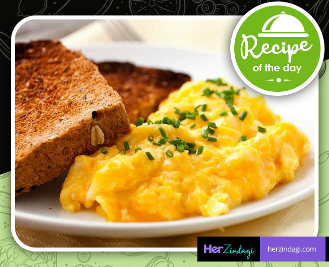 recipe scrambled eggs