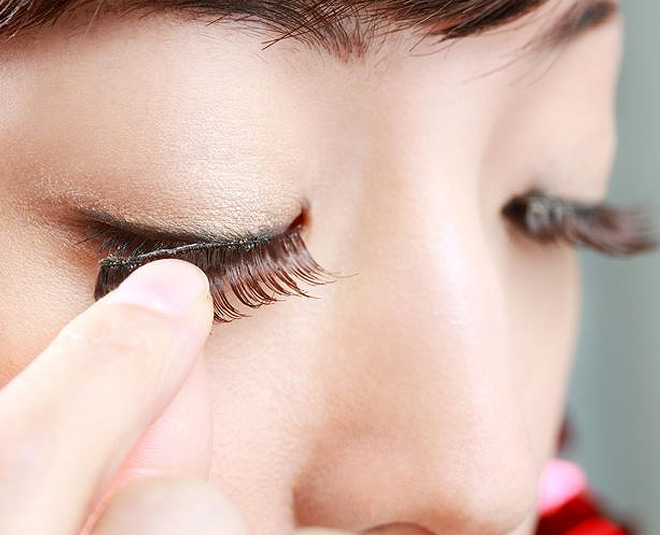 simple way to set artificial eyelash extensions main