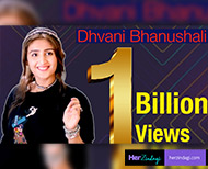singer dhvani bhanushali two songs crossed  billion views collectively thumb