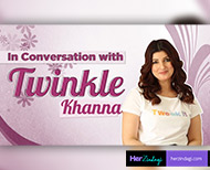 special interview of  Twinkle Khanna