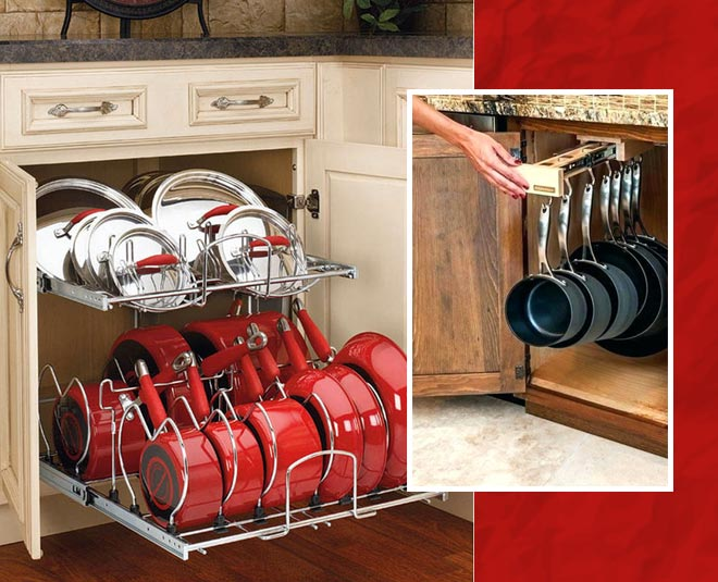 ways to organize your pots and pans main