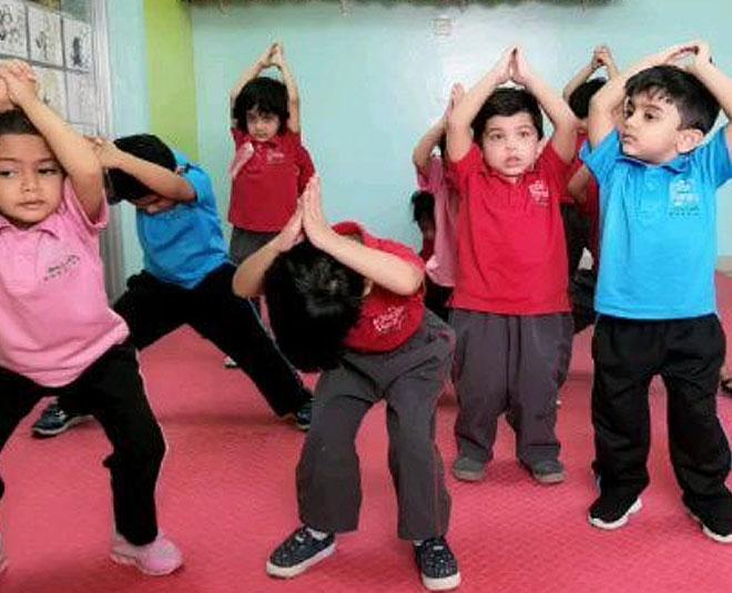 yoga for children fitness Main