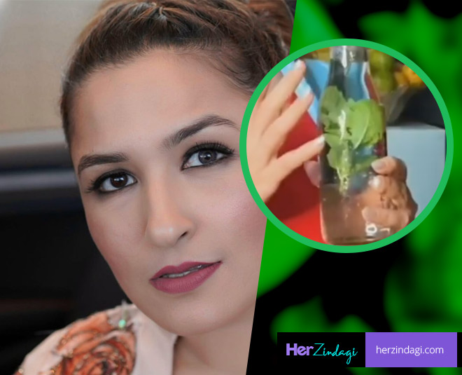 aashmeen munjaal on how to use mint to remove dandruff main