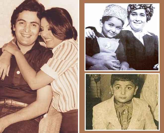 best childhood images of rishi kapoor