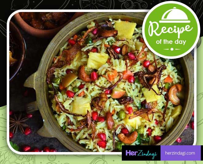 how to make Kashmiri Pulao easy recipe tips