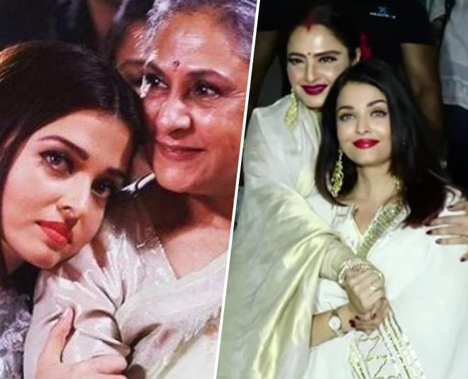 Jaya Bachchan Was Reportedly Angry With Aishwarya Rai Bachchan Due To Her  Closeness With Rekha
