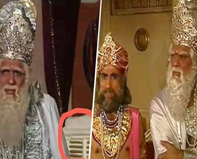 Tv Serial Mahabharat Getting Trolled On Social Media Due To Bhishma Pitamah Sitting Infront Of Cooler While Filming