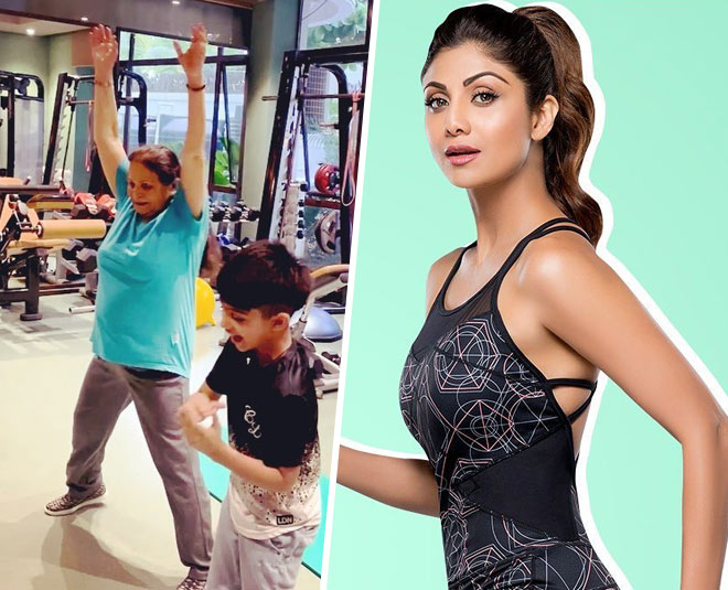 shilpa shetty mother in law fitness main
