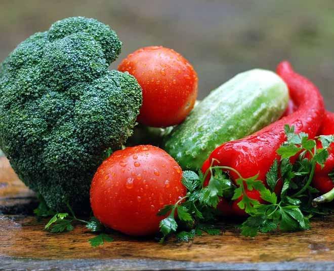storing veges