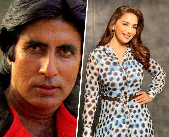 why madhuri dixit did not work with amitabh main