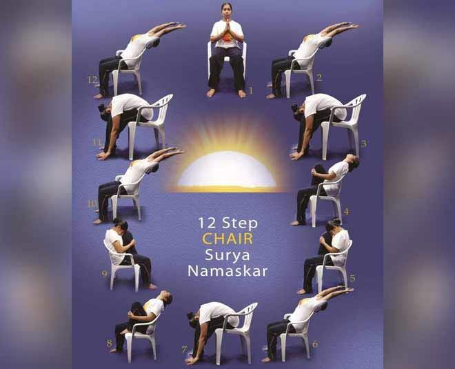 Chair Surya namaskar main