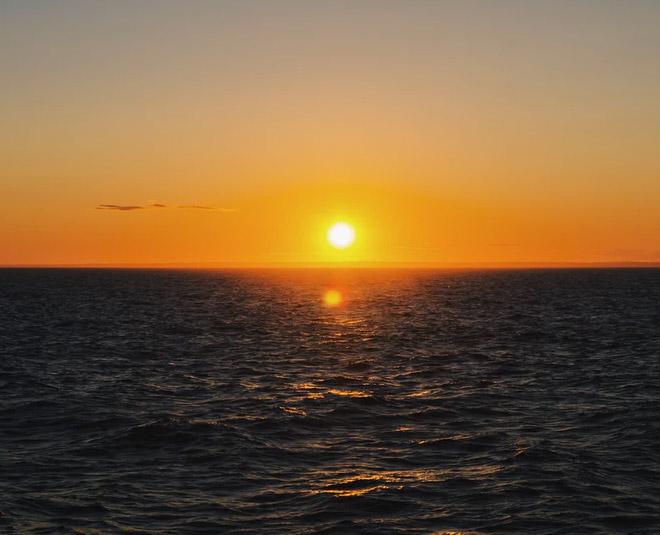 Main sunset
