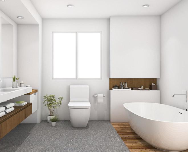 clean bathroom fast hacks