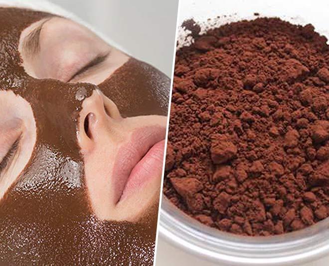 cocoa powder face masks main