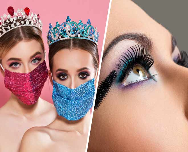 eye makeup looks with masks m