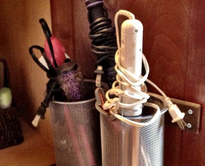 ideas to organize your hair accessories and tools