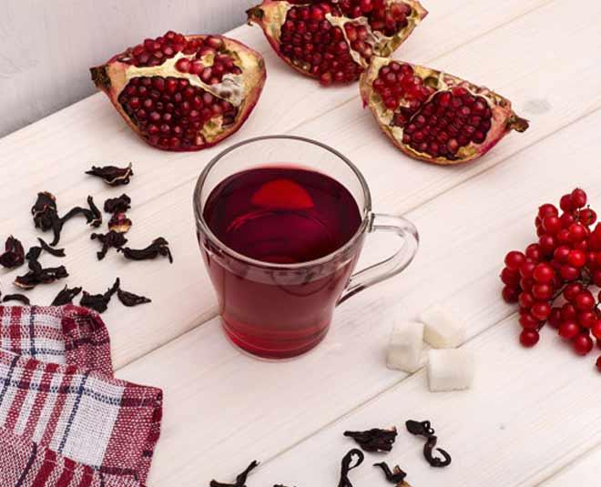 pomegranate tea main
