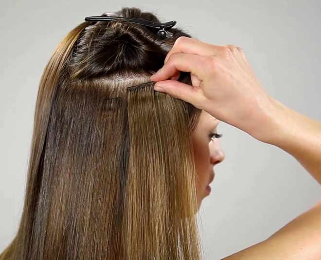 right way of using hair extension m