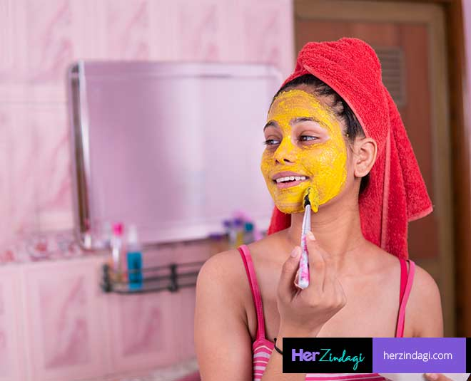 Face Packs With Turmeric for Dry Skin
