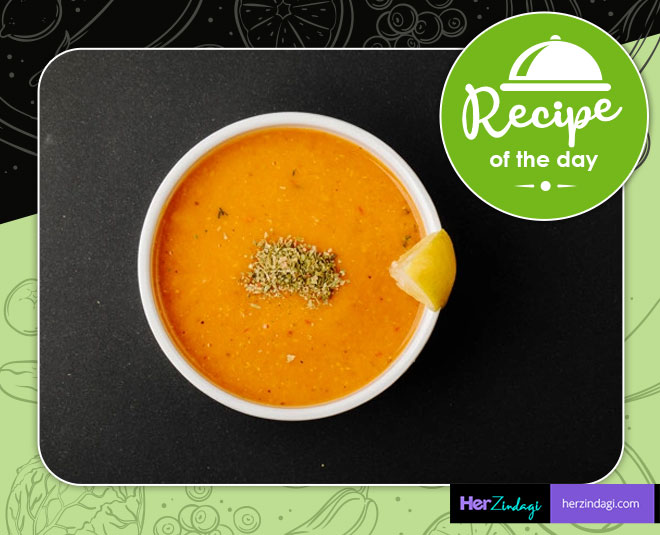 Masoor Dal Curry Soup