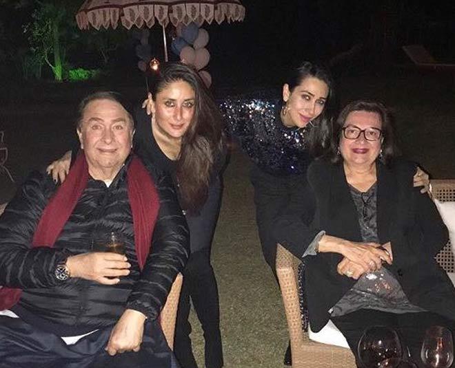 Randhir Kapoor & Babita'