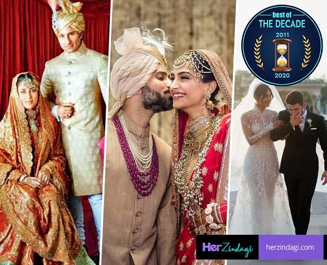 celeb weddings of decade