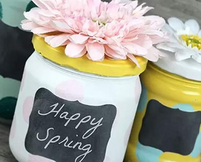 glass jar easter ideas