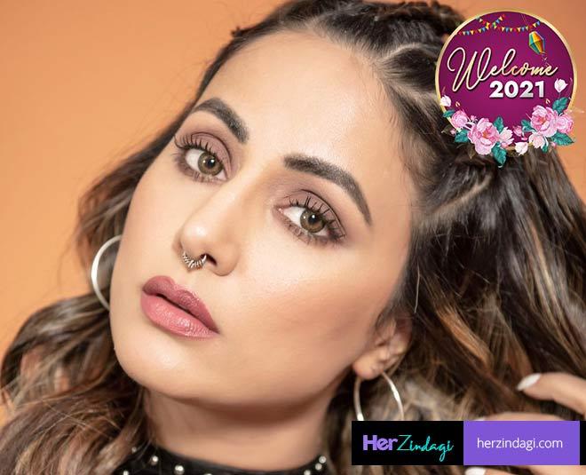 hina khan new year party main