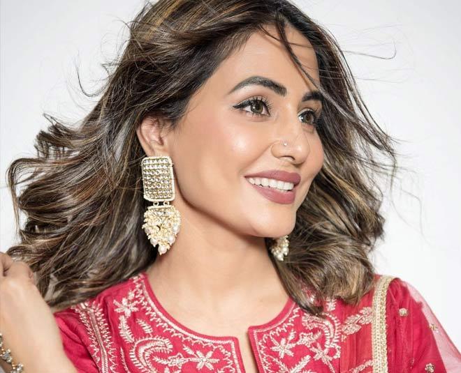 hina khan no makeup look tutorial