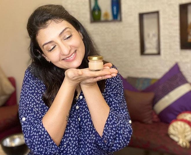 juhi parmar's homemade cream main