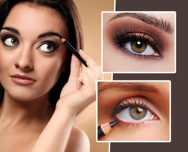 kajal uses eyes