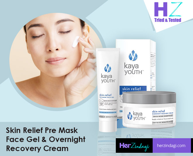 kaya youth skin relief overnight cream face gel